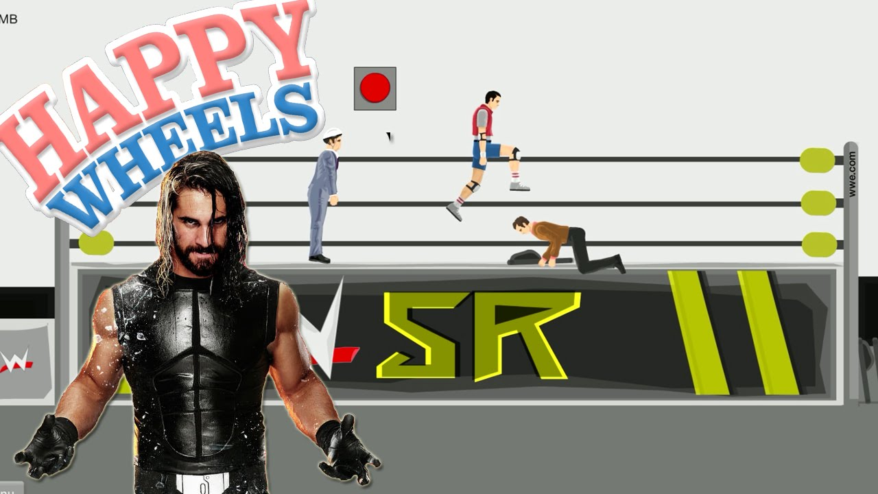 Happy Wheels Wwe Wrestlemania Part 390 Youtube