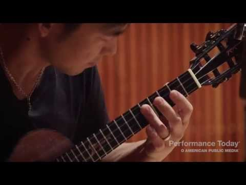 "Jake Shimabukuro performs ""Kawika"" live in the studio"