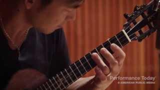 Jake Shimabukuro performs Kawika live in the studio