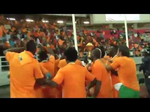 Côte D'Ivoire Celebration - Orange Africa Cup of Nations, EQUATORIAL GUINEA 2015