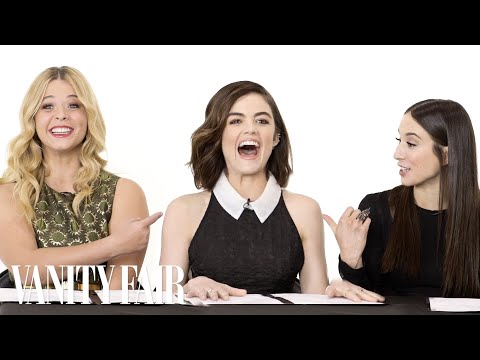 The Cast of Pretty Little Liars Takes a Lie Detector Test