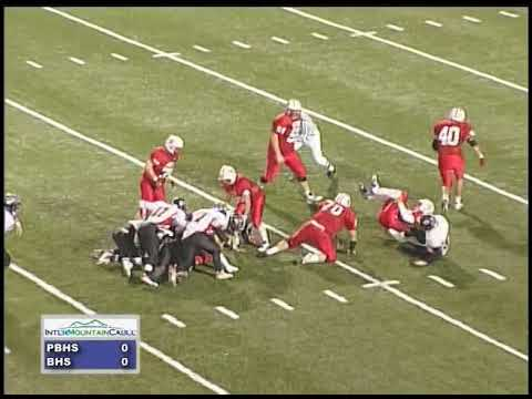 [WPRG-TV Flashback] Prestonsburg vs. Belfry High School Football (October 6, 2006)