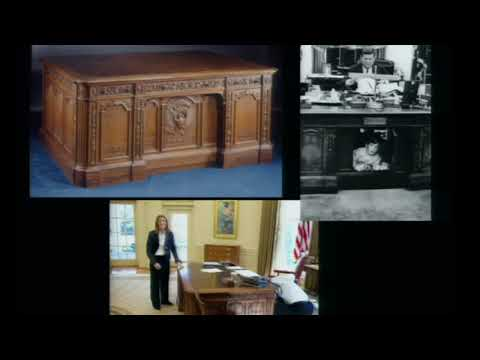 Mrs. Kennedy's Decision To Move The Resolute Desk Into The Oval Office