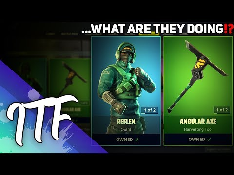They Sold Reflex In The Item Shop... (Fortnite Battle Royale)