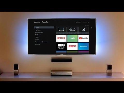 Sharp 55 inch (LC-55LBU591U) LED Smart 4K UHD TV