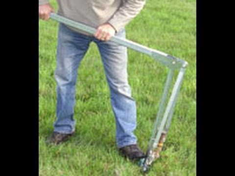 JackJaw Tent Stake Puller - How To Pull Large Tent Stakes & JackJaw Tent Stake Puller - How To Pull Large Tent Stakes - YouTube
