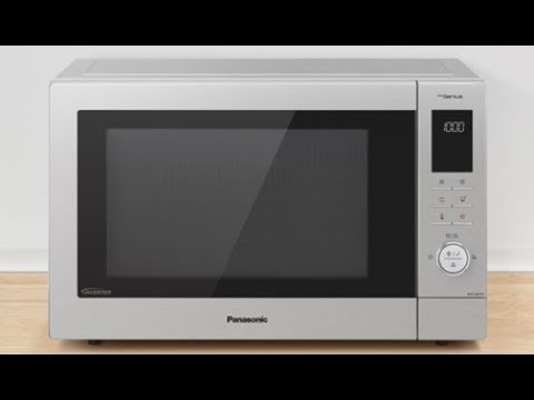 The new Panasonic NN-CD87K Family size Combination Microwave Oven