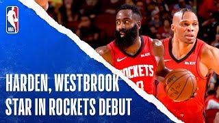 James Harden and Russell Westbrook STUFF the Stat Sheet