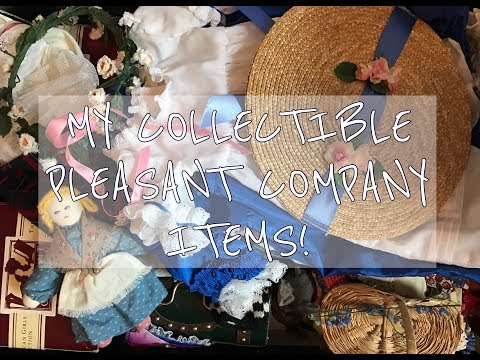 MY AMERICAN GIRL PLEASANT COMPANY ITEMS! (Watch In HD!)