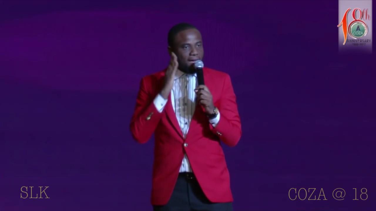 Comedian SLK's awesome performance at Coza Abuja