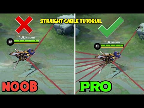 STRAIGHT CABLE TUTORIAL ✅ ( HARDEST FANNY CABLE ) MASTER in 8 MINS 😎 🔥 - MLBB