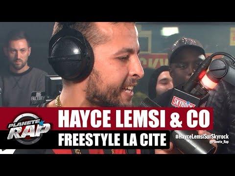Youtube: Hayce Lemsi – Freestyle la cité x Bosh x Junior Bvndo x Wamax #PlanèteRap