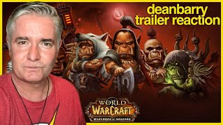 World Of Warcraft - Warlords of Draenor (All In Game Cinematics - Spoilers) - REACTION