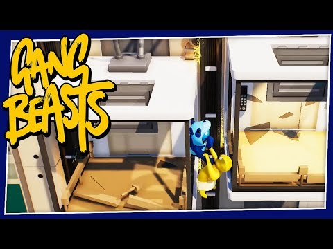 Gang Beasts - #254 - ELEVATOR MADNESS!