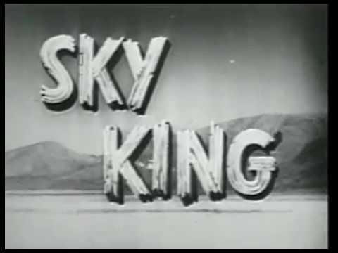 Sky King - Sky Robbers * Classic episode Western TV Series