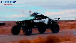 Полициейский Багги против Спортбайков/дрифт