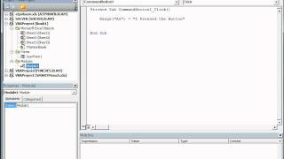 Into to Excel VBA (Lesson 2) - Sub and Forms
