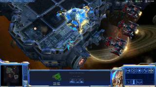 StarCraft II: Protoss Gameplay