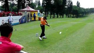 WANG Ter Chang (汪德昌) 2011 仰德 TPC 1st hole tee shot