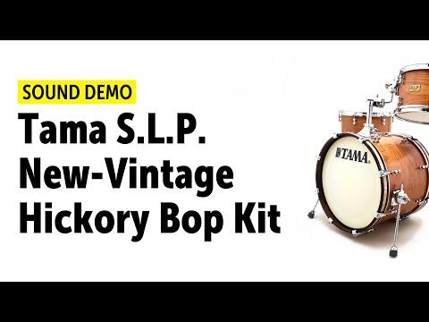 Tama S.L.P. New-Vintage Hickory Bop Kit - Sound Demo Mp3