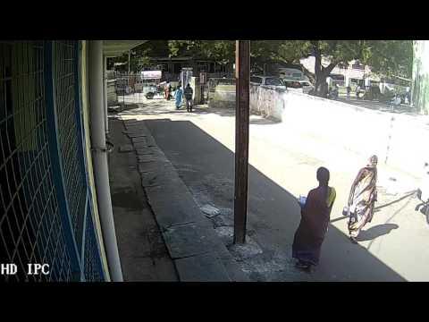 bike thefting 9 01 2016 avi Kurnool Government General Hospital CCTV footage