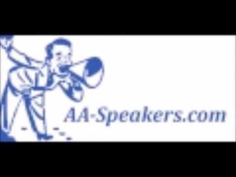 AA Speaker Adrian, Best Women's share I've heard in a long time.