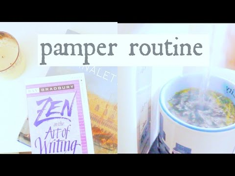 Friday Night Pamper Routine 2015 // How I Destress