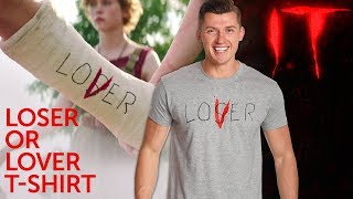 Video Stephen Kings ES: Loser or Lover T-Shirt download MP3, 3GP, MP4, WEBM, AVI, FLV Januari 2018