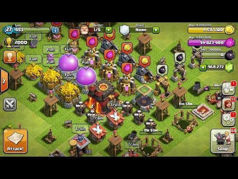 HOW TO GET 999,999,999 GEMS ON CLASH OF CLANS (STILL WORKING AUGUST 2017!) FAST AND EASY!