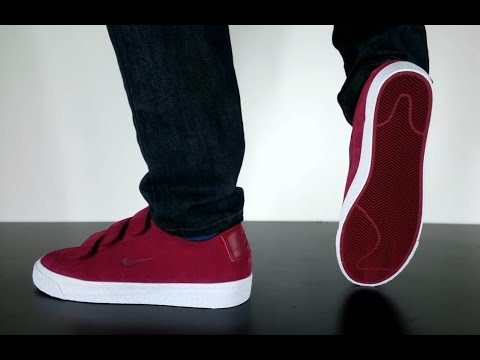 nike blazers low red cells