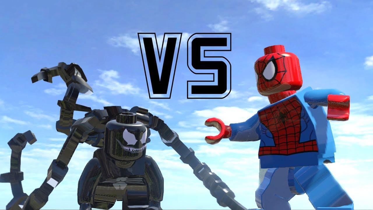 insane venom transformation vs spiderman amazing
