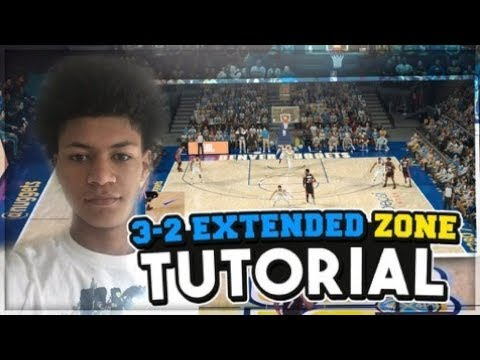HOW TO RUN THE 3-2 *EXTENDED* ZONE DEFENSE! HOW TO LOCKDOWN CORNER 3s + MORE! NBA 2K18