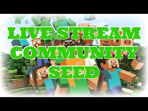 Minecraft Community Seed Craziness! PS4 Edition
