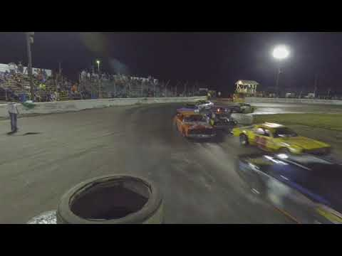 The Painesville Speedway. Figure 8 racing