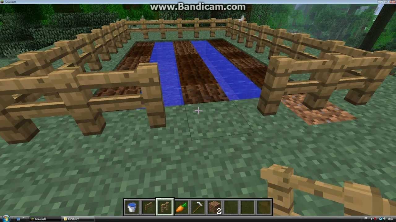 How to make a garden in Minecraft 7.72