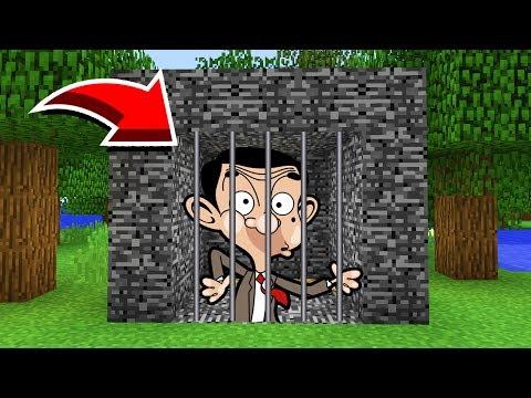 Minecraft : We Trapped MR BEAN! (Ps3/Xbox360/PS4/XboxOne/PE/MCPE)