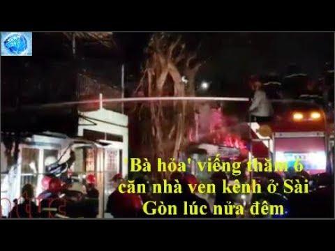 'Bà hỏa' viếng thăm 6 căn nhà ven kênh ở Sài Gòn lúc nửa đêm