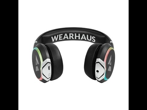Reviews Wearhaus Arc Bluetooth Headphones Customizable Lights, Touch Controls, and Wireless Audio