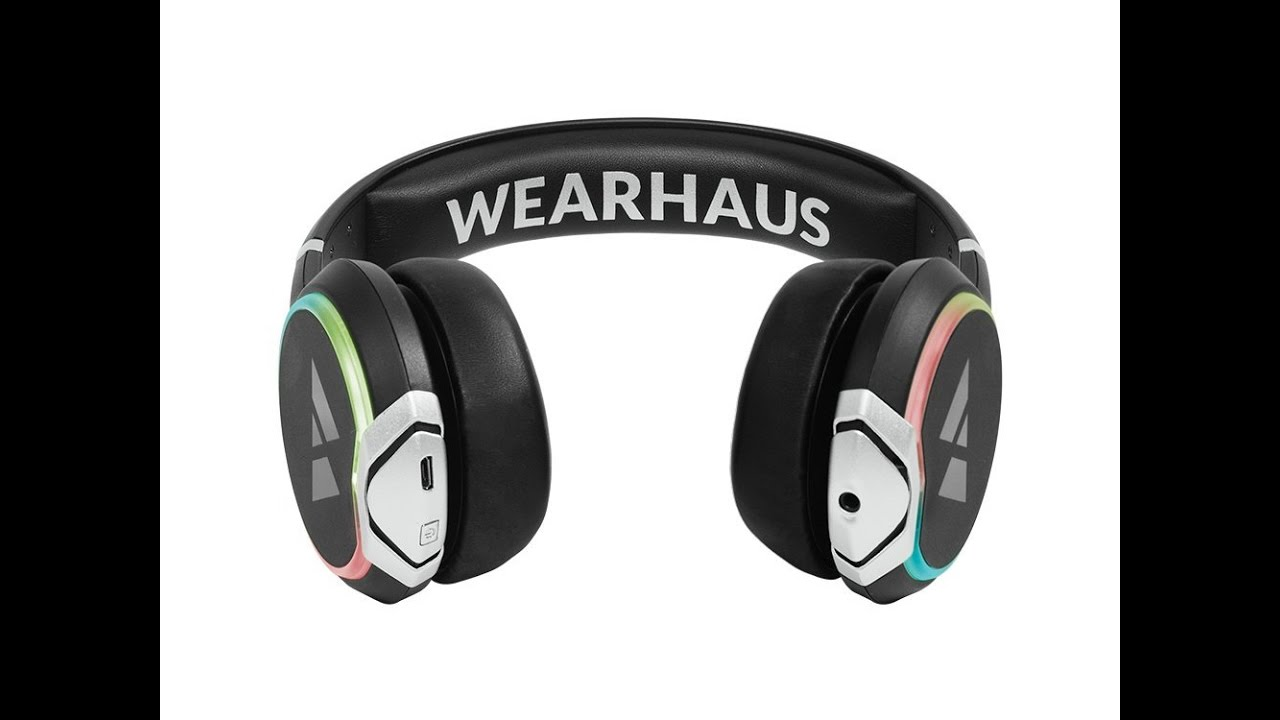 a01d5f133f0 Reviews Wearhaus Arc Bluetooth Headphones Customizable Lights, Touch  Controls, and Wireless Audio