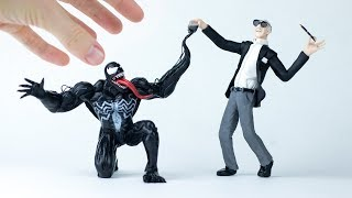 Stan Lee creating Venom (Marvel) – Polymer Clay Tutorial