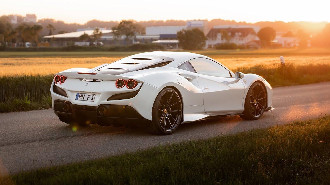 Novitec Ferrari F8 Exhaust