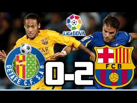 Getafe vs Barcelona 2015| Getafe 0-2 Barcelona Goles| liga BBVA| 31-10-15