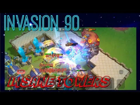 INSANE TOWERS! Invasion 90 - Castle Clash New Dawn