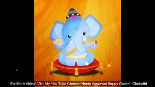 Happy Ganesh Chaturthi  Wishes,Greetings,Sms,Sayings,Quotes,E-card,Jai Ganesh Deva, Whatsapp video