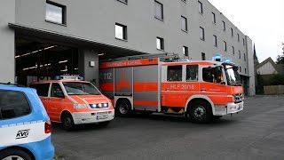 [GASGERUCH im Haus] LZ + RTW BF Kassel + LF 16/12 FF Waldau