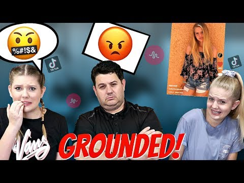Dad Reacts to 13 year old daughters Tik Toks | Taylor and Vanessa