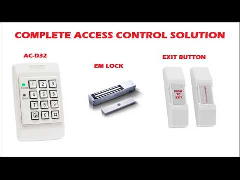 ROSSLARE AC-D32 STANDALONE ACCESS CONTROL DETAILS AND INSTALLATION