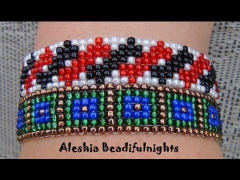 Loom Beaded Bracelet Tutorial