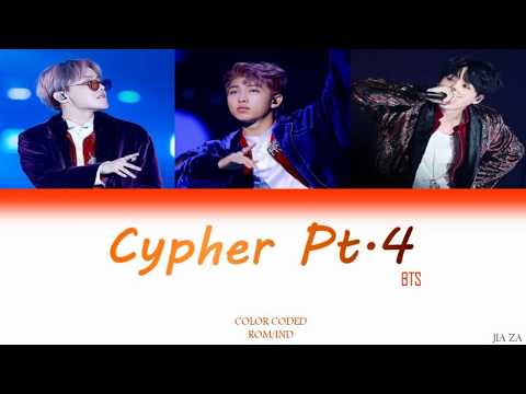 BTS 'CYPHER PT 4'  Lirik {Color Coded-Rom-Ind} Sub Indo