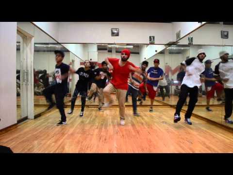 Old School Hip Hop | New Jack Swing | Class with ABHISHEK DAS | INDIA - (Part 2)